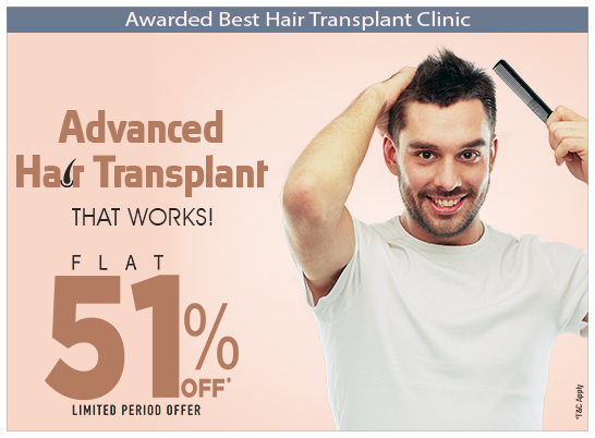 hair transplant at Rs. 767